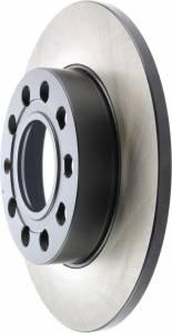 CENTRIC BRAKE PARTS #125.33106 Premium High Carbon Alloy Brake Rotor
