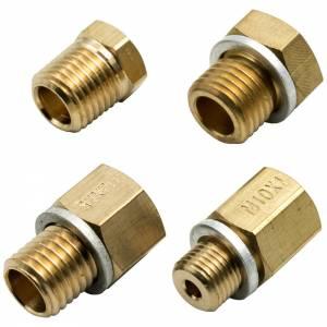 EQUUS #E9843 Adapter Kit - Oil Press 1/8-27  NPT to Metric