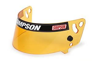 SIMPSON SAFETY #1012-17 Shield Amber Shark Vudo Hi-Res.