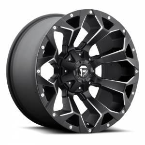 FUEL OFF ROAD #D54620909850 Wheel-Assault 20x9 6x135 /6x139.70 Matte Black
