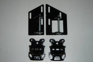CAR SHOP INC #2347-A2435 S10 S15 Blazer Sonoma 350 SBC V8 4 Wheel Motor Mounts with Rubber Frame Mounts