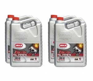 AMALIE #160-65777-36 Elixir Full Synthetic 0w40 Oil Case 4 x 1 Gal.