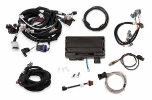HOLLEY #550-909T Terminator X MPFI Kit GM LS1 w/EV6 Inj Harness