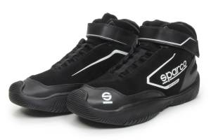 SPARCO #0012CREW009NR Shoe Pit Stop Black Size 9