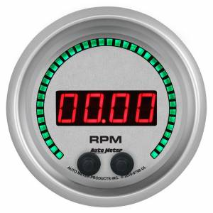 AUTO METER #6798-UL 3-3/8 16K RPM Tachometer Elite Digital UL Series