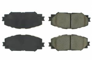 CENTRIC BRAKE PARTS #102.121 C-TEK Semi-Metallic Brake Pads with Shims