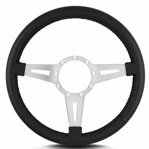 LECARRA STEERING WHEELS #43201 Steering Wheel Mark 4 El egante Pol. w/Blk Wrap
