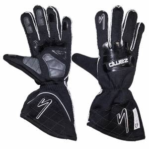 ZAMP #RG10003M Gloves ZR-50 Black Med Multi-Layer SFI3.3/5