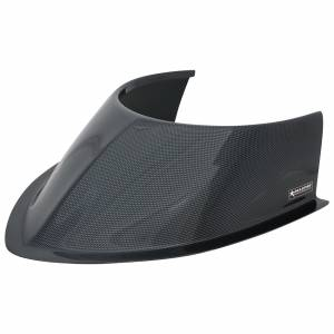 ALLSTAR PERFORMANCE #ALL23249 Tapered Front Hood Scoop Long 5-1/2in Curved