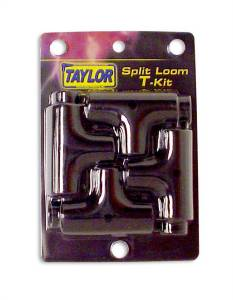 TAYLOR/VERTEX #39100 Convoluted Tubing Tees & Adapter Kit - Black