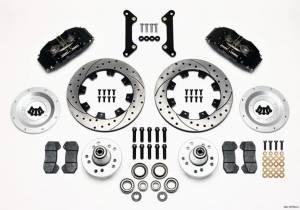 WILWOOD #140-10738-D Brake Kit Dynapro Camaro 70-78 6 Piston 12.19in