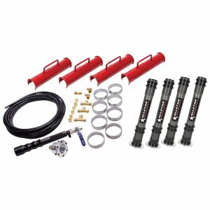ALLSTAR PERFORMANCE #ALL11301 Air Jacks Complete Kit 15.25in w/ Dirt Foot