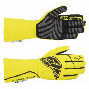 ALPINESTARS USA #3551620-551-L Tech-1 Start Glove Large Yellow Fluo