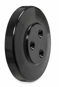 HOLLEY #97-185 Cover - AC Compressor SD7 - Black