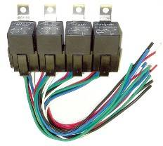 FASTRONIX SOLUTIONS #900-004 Relay and Socket Panel (4)