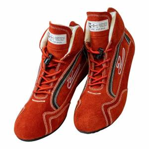 ZAMP #RS00100210 Shoe ZR-30 Red Size 10 SFI 3.3/5