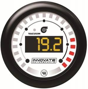 INNOVATE MOTORSPORTS #38510 MTX Digital  Vac/Boost & Shift Light Gauge Kit