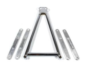 TRIPLE X RACE COMPONENTS #SC-SU-3304 Jacobs Ladder 13-5/8in w/Straps Plated 3-Hole