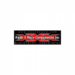 TRIPLE X RACE COMPONENTS #AV-0001 Triple X Decal 3x10