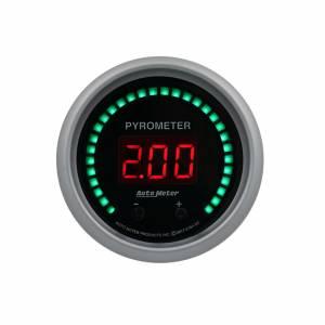 AUTO METER #6744-SC 2-1/16 Pyrometer Gauge Elite Digital SC Series