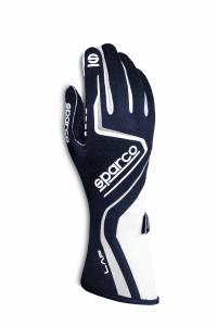 SPARCO #00131508BNBI Glove Lap X-Small Blue / White