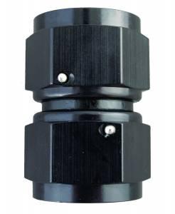FRAGOLA #496116-BL 16an Female Swivel Connector Fitting Black