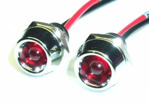 FASTRONIX SOLUTIONS #304-005 LED RED INDICATOR LIGHT