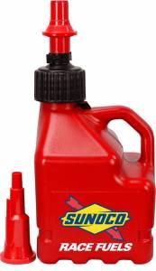SUNOCO RACE JUGS #R3100RD-FF Red Sunoco 3 Gallon Utility Jug w/ Fastflo