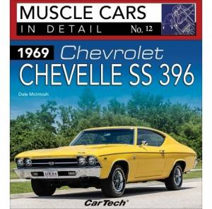 S-A BOOKS #CT669 Muscle Cars In Detail 1969 Chevelle SS 396