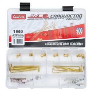 EDELBROCK #1940 AVS2 Calibration Kit - 500 Series