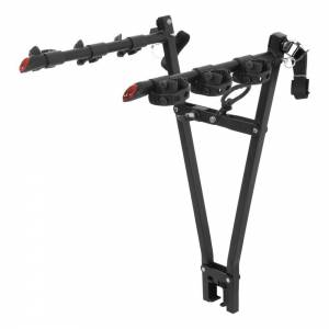 CURT MANUFACTURING #18013 Clamp-On Bike Rack 3 Bikes  Fits Over 2in Shank