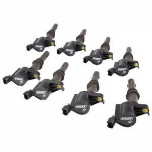 FAST ELECTRONICS #30393-8 XR Ignition Coil Set 8pk Ford 4.6L/5.4L/5.8L 3V