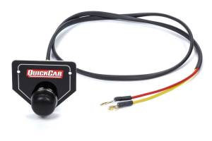 QUICKCAR RACING PRODUCTS #50-433 Remote Start Button w/ Plate