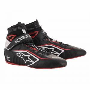 ALPINESTARS USA #2715120-123-10 Tech 1-Z Shoe Size 10 Black / Red