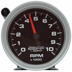 AUTO METER #233908 3-3/4in Autogage Tach - 10K RPM w/Shift Light