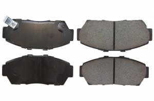 CENTRIC BRAKE PARTS #105.0617 Posi-Quiet Ceramic Brake Pads with Shims and Hardware