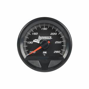 LONGACRE #52-46744 Waterproof SMI Water Temp Gauge 100-280f