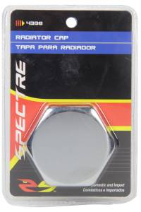 SPECTRE #SPE-4338 Hex One-Piece Radiator Cap- Chrome