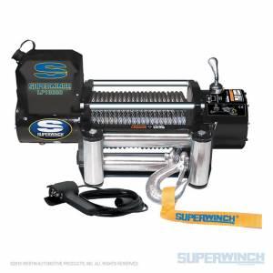 SUPERWINCH #1510200 10000# Winch w/Roller Fairlead & 12ft HH Remot