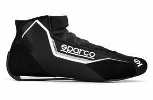 SPARCO #00128342NRGR Shoe X-Light Black Size 8-8.5 Euro 42