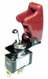 FASTRONIX SOLUTIONS #300-300 TOGGLE SWITCH WITH RED COVER