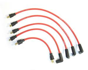PERTRONIX IGNITION #804412 8mm Spark Plug Wire Set Austin/MG 4-Cylinder Red