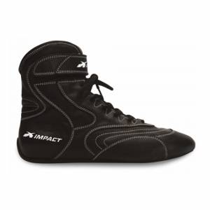 IMPACT RACING #49210010 Shoe Nitro Drag Black 10 SFI3.3/20