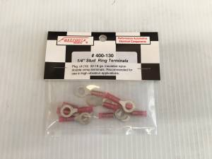FASTRONIX SOLUTIONS #400-130 22-18 GA. TERMINAL 1/4 RING 10 PACK