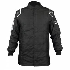 K1 RACEGEAR #21-SPT-NW-2XL Jacket Sportsman Black / White XX-Large