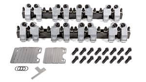 T AND D MACHINE #2053-160/155 SBC Shaft Rocker Arm Kit w/Bowtie 18 Deg. Heads