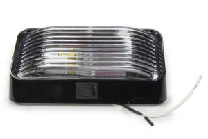 REESE #30-78-524 Porch Light #78 Clear w/ Black Base & Switch