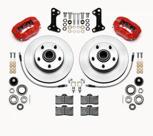 WILWOOD #140-15272-R Front Disc Brake Kit 67- 69 Camaro w/Brake Lines