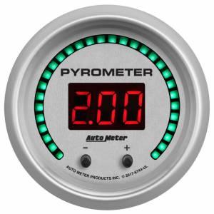 AUTO METER #6744-UL 2-1/16 Pyrometer Gauge Elite Digital UL Series