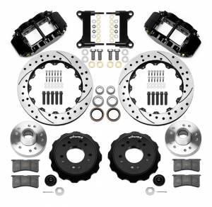 WILWOOD #140-15949-D Brake Kit Front GM C1500 88-98 5 Lug 13.06in Rtr